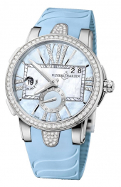 Ulysse Nardin Executive Lady Dual Time 40 mm 243-10B-3C/393