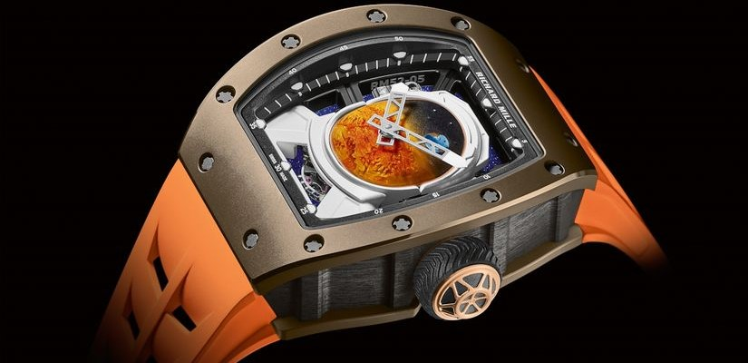 Космические Richard Mille RM 52-05 Tourbillon Pharrell William