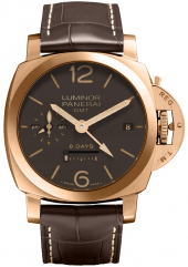 Panerai Luminor 1950 8 Days GMT Oro Rosa 44 mm PAM00289