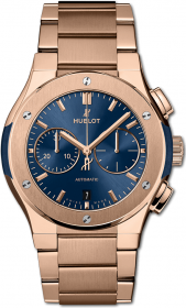 Hublot Classic Fusion Chronograph King Gold Bracelet 42 mm 540.OX.7180.OX