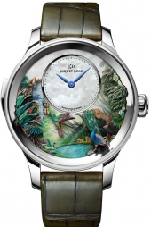 Jaquet Droz Tropical Bird Repeater White Gold
