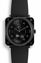 BELL & ROSS BR S Phantom Black Diamonds