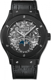 Hublot Classic Fusion Aerofusion Moonphase Black Magic 42 mm 547.CX.0170.LR