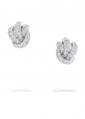 Серьги Graff Knot Pavé Diamond Stud Earrings RGE 1408