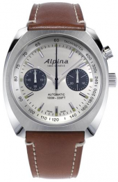 Alpina Startimer Pilot Heritage Chronograph Silver 42 mm AL-727SS4H6