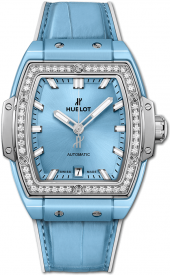 Hublot Spirit of Big Bang Light Blue Ceramic Titanium Diamonds 39 mm 665.EN.891L.LR.1204