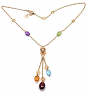 Колье Bvlgari B.Zero1 Multi-Gem Necklace