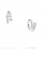 Серьги Graff Duet Diamond Hoop Earrings RGE 1564