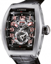 Cvstos Hour Minute Seconde Challenge Twin-Time TT Steel