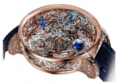 Jacob & Co Grand Complication Masterpieces Astronomia Meteorite Triangle Diamonds AT800.40.HD.HD.B