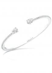 Браслет Graff Duet Pavé Diamond Bangle RGB 380