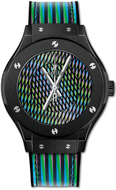 Hublot Classic Fusion Cruz Diez Ceramic 38 mm 565.CX.8900.VR.CZD19
