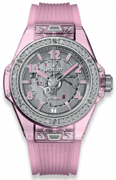 Hublot Big Bang One Click Pink Sapphire Diamonds 39mm