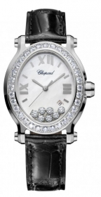 Chopard Happy Sport Oval Quartz Ladies 278546-3002