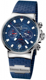 Ulysse Nardin Marine Chronograph Blue Seal 41 mm Limited Edition 353-68LE-3