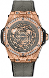 Hublot Big Bang One Click Sang Bleu King Gold Grey Diamonds 39 mm 465.OS.7048.VR.1204.MXM20
