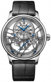 Jaquet Droz Grande Seconde Skelet-One White Gold Sapphire