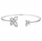 Браслет Graff Butterfly Double Silhouette Bangle RGB 501