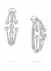 Серьги Graff Duet Diamond Triple Hoop Earrings RGE 1570
