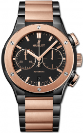 Hublot Classic Fusion Chronograph Ceramic King Gold Bracelet 45 mm 520.CO.1180.CO