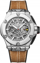 Hublot Big Bang Ferrari 1000 GP White Gold 45 mm 402.WX.0112.VR