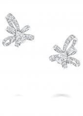 Серьги Graff Inspired by Twombly Pear Shape Diamond Stud Earrings RGE 1338