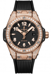 Hublot Big Bang One Click King Gold Pave 33 mm 485.OX.1180.RX.1604