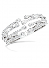 Браслет Graff Duet Multi-strand Diamond Bangle RGB 453