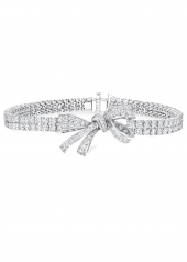 Браслет Graff Bow Diamond Double Strand Bracelet RGB 314