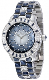 Dior Christal Blue Mother of Pearl Dial Ladies