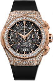 Hublot Classic Fusion Aerofusion Chronograph Orlinski King Gold Jewellery 45 mm 525.OX.0180.RX.0904.ORL19