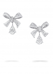 Серьги Graff Bow Baguette Cut Diamond Earrings RGE 1351