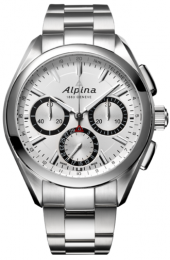Alpina Alpiner 4 Manufacture Flyback Chronograph Silvered Sunray 44 mm AL-760SB5AQ6B