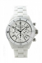Chanel J12 Automatic Chronograph White Ceramic 41 mm