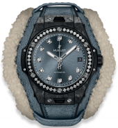 Hublot Big Bang One Click Frosted Carbon Diamonds 39mm