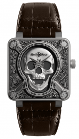 Bell & Ross Instruments BR 01 Burning Skull 46 mm BR0192-SKULL-BURN