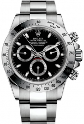 Rolex Daytona Cosmograph Chromalight 40mm Black Dial 116520