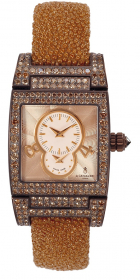 De Grisogono Instrumentino White Gold Cognac Diamonds TINO S17 AT