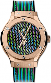 Hublot Classic Fusion Cruz Diez King Gold 38 mm 565.OX.8900.VR.CZD19