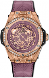 Hublot Big Bang One Click Sang Bleu King Gold Pink Diamonds 39 mm 465.OS.89P8.VR.1204.MXM20
