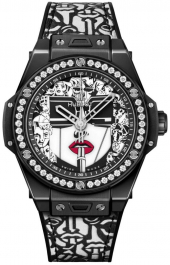 Hublot Big Bang One Click Marc Ferrero Ceramic Black and White 39 mm 465.CX.1120.VR.1204.LIP20