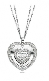 Подвеска Chopard Happy Diamonds Happy Hearts Diamonds 797221-1002