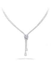 Колье Graff Knot Pavé Diamond Necklace RGN 595