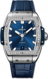 Hublot Spirit of Big Bang Titanium Blue Diamonds 39 mm 665.NX.7170.LR.1204
