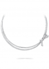 Колье Graff Bow Pavé Diamond Necklace RGN 710