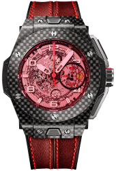 Hublot Big Bang Ferrari Carbon Red Magic 45 mm 401.QX.0123.VR
