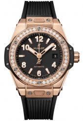 Hublot Big Bang One Click King Gold Diamonds 33 mm 485.OX.1180.RX.1204
