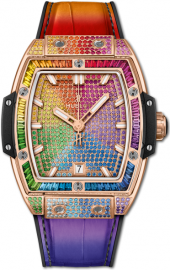 Hublot Spirit of Big Bang King Gold Rainbow 39 mm 665.OX.9910.LR.0999