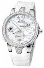 Ulysse Nardin Executive Dual Time Lady 40 mm 243-10B-3C/691