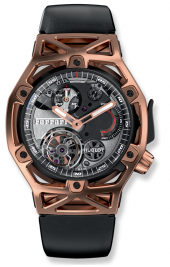 Hublot Techframe Ferrari Tourbillon Chronograph King Gold 45 mm 408.OI.0123.RX